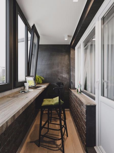 高端阳台装潢样板间