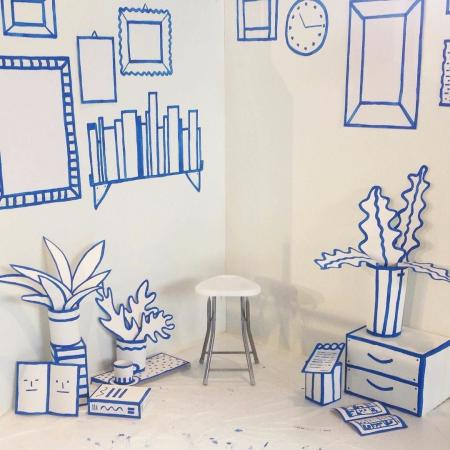 普通室内设计素材设计