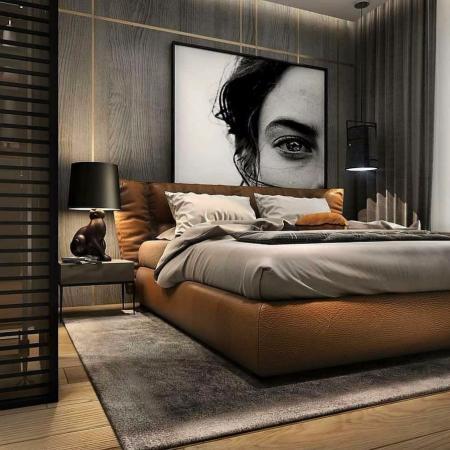 创意卧室设计图库
