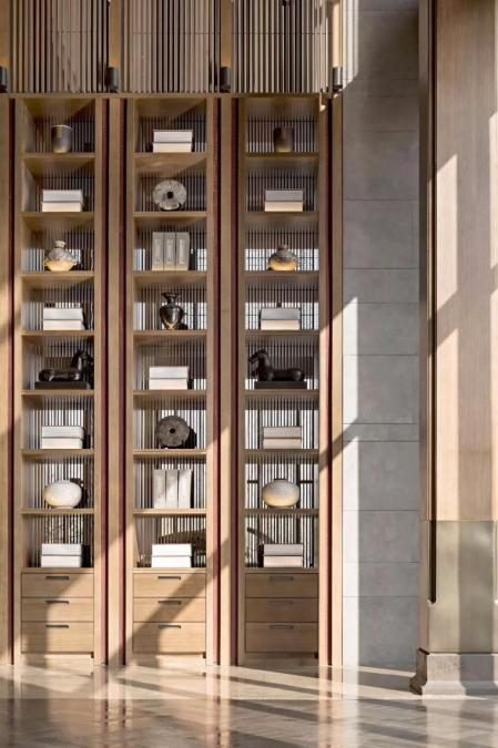 流行书房设计 图库