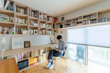 流行书房参考设计