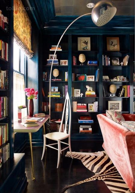 最流行书房设计搞图