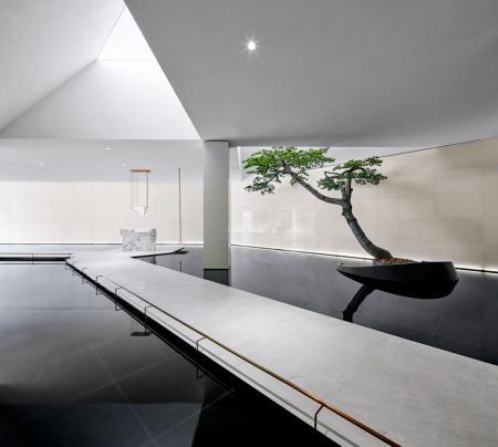 流行售楼处室内设计