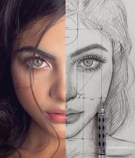 高端绘画图片 设计