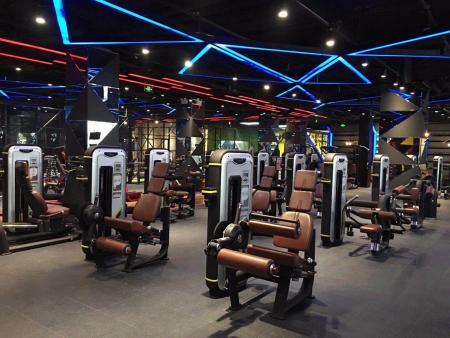 健身房设计图集