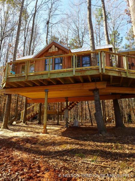 流行树屋素材 设计