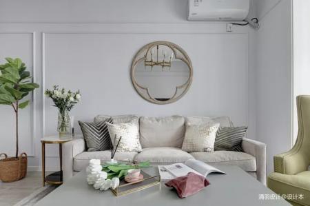 个性客厅图纸 设计