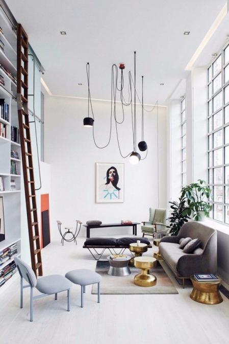 流行客厅图纸设计