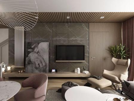 流行客厅作品集设计