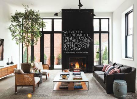 流行客厅参考 设计