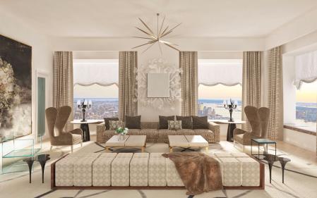 最流行客厅作品集设计