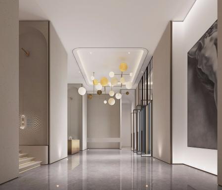 最流行客厅设计稿图
