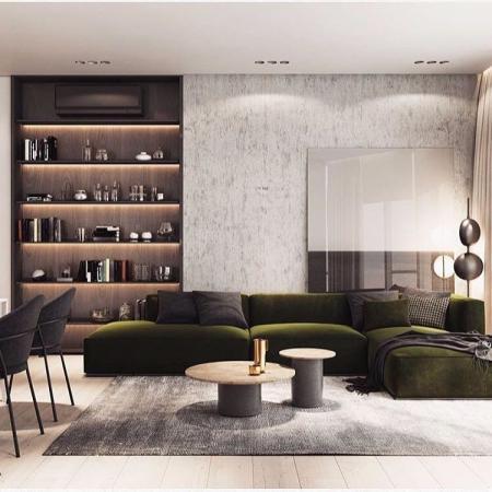 时尚客厅设计设计图