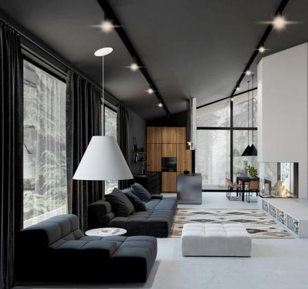 时尚客厅参考 设计