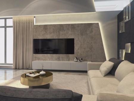 小清新客厅设计图