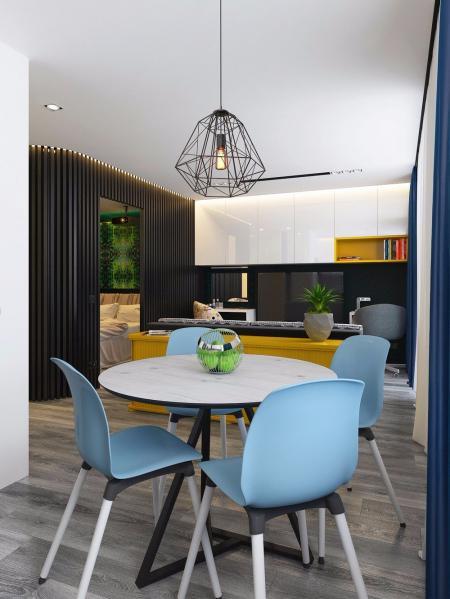 小清新客厅设计案例