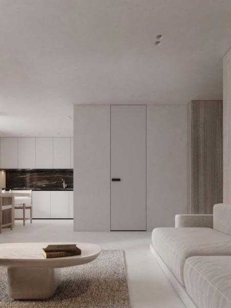 小清新客厅设计搞图
