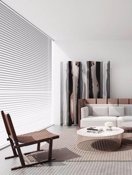 小清新客厅设计图设计