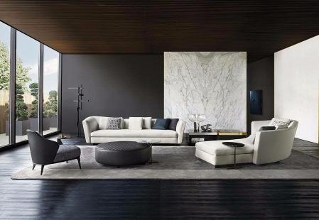 小清新客厅效果图 设计