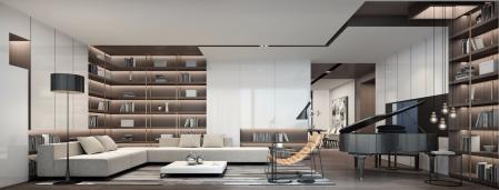 高档客厅素材 设计