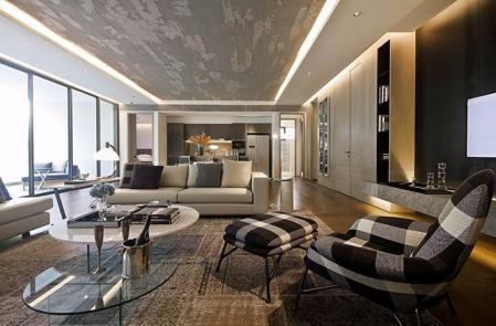 现代风格,现代客厅