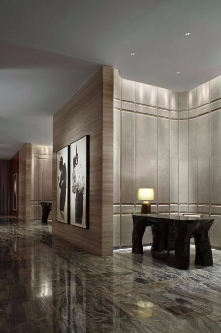 高级酒店的装饰效果图