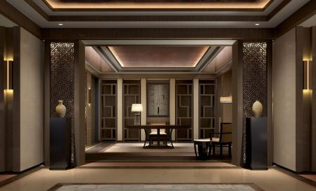 轻奢酒店图设计