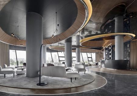 创意设计酒店装修效果图