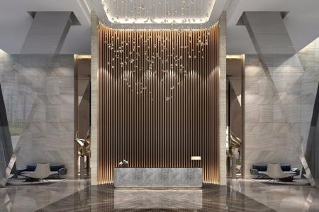 创意hotel装潢效果图