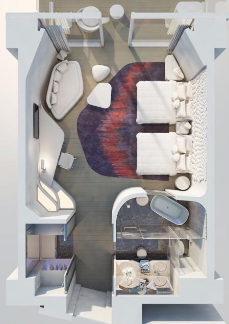 创意hotel装修 样板间