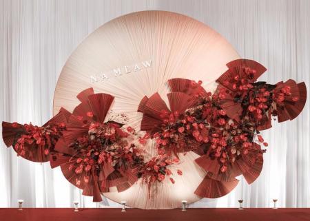 网红插花设计图片