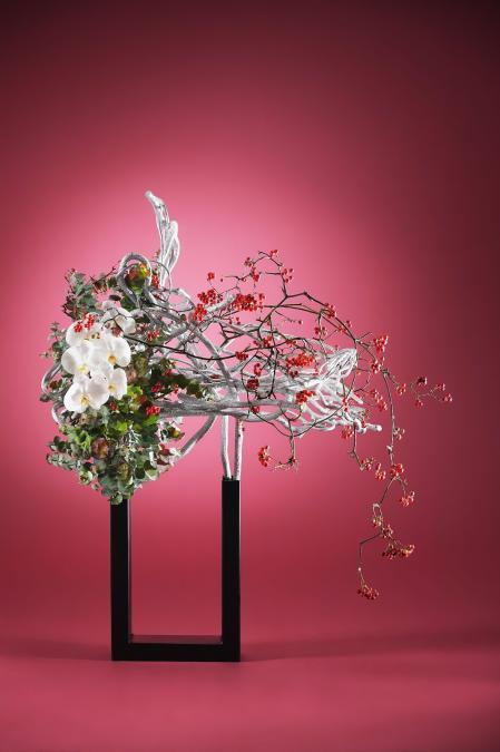 最新小清新插花设计图设计