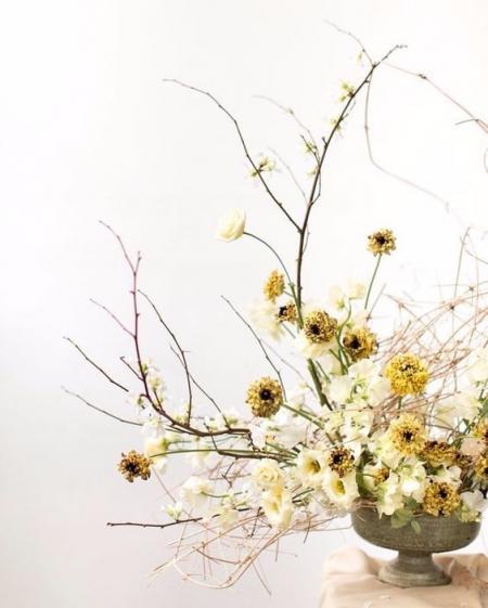 最新最流行花艺搞图 设计