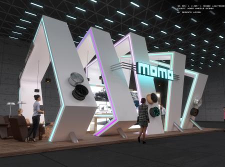 流行展厅图设计