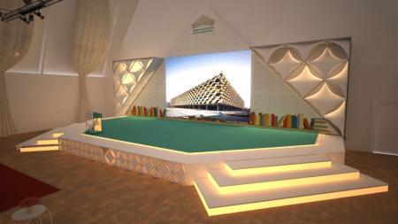 流行展厅简单设计