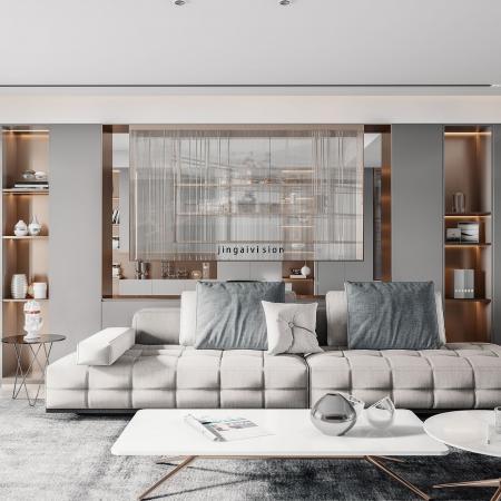 精美客厅素材设计