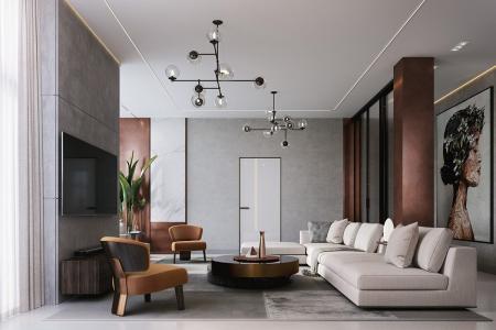 时尚客厅家居设计