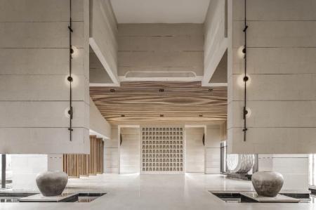 流行中式酒店设计图片