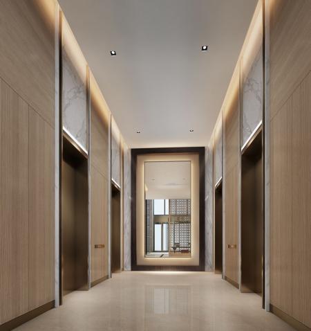 流行中式酒店设计素材