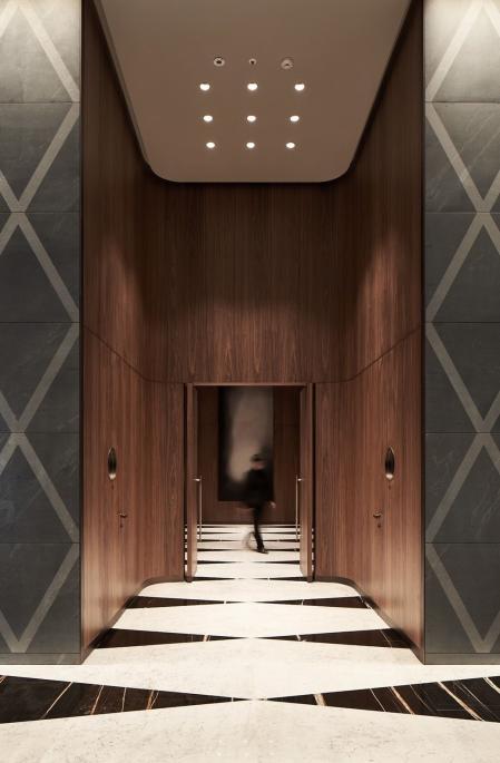流行中式酒店设计图纸