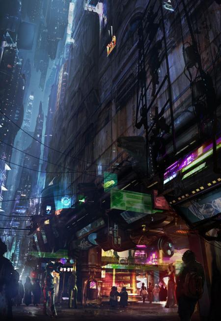 未来城市建筑,
