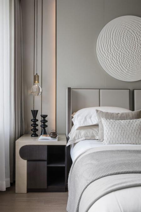 软装,中式卧室,
