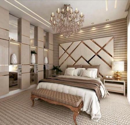 欧式卧室,