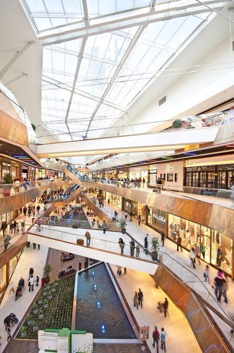 现代风格购物中心设计参考图片