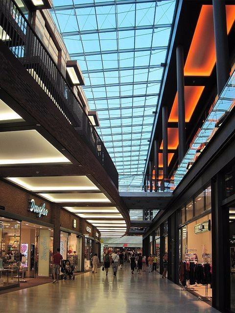 现代风格商场设计大全