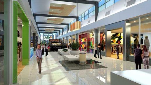 现代风格购物中心灵感来源