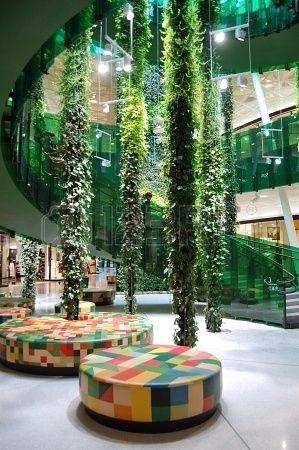 现代风格购物中心照片方案