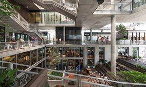 未来购物中心照片概念