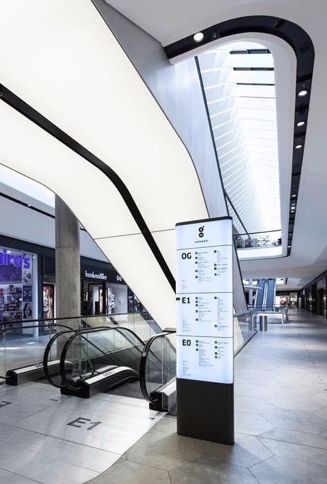 未来风格购物中心设计灵感