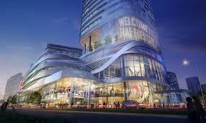 未来风格购物中心灵感来源
